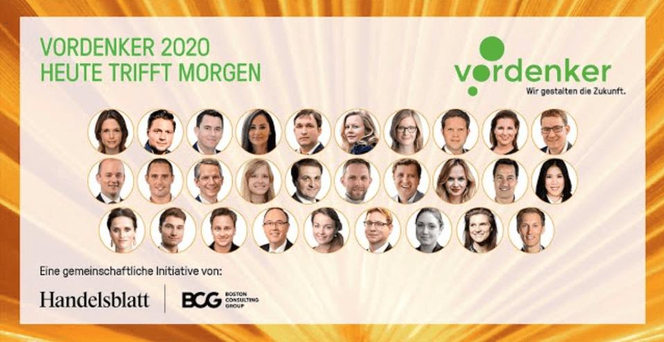 "Veronika Schweighart Receives German ""Thought Leader 2020"" Award"