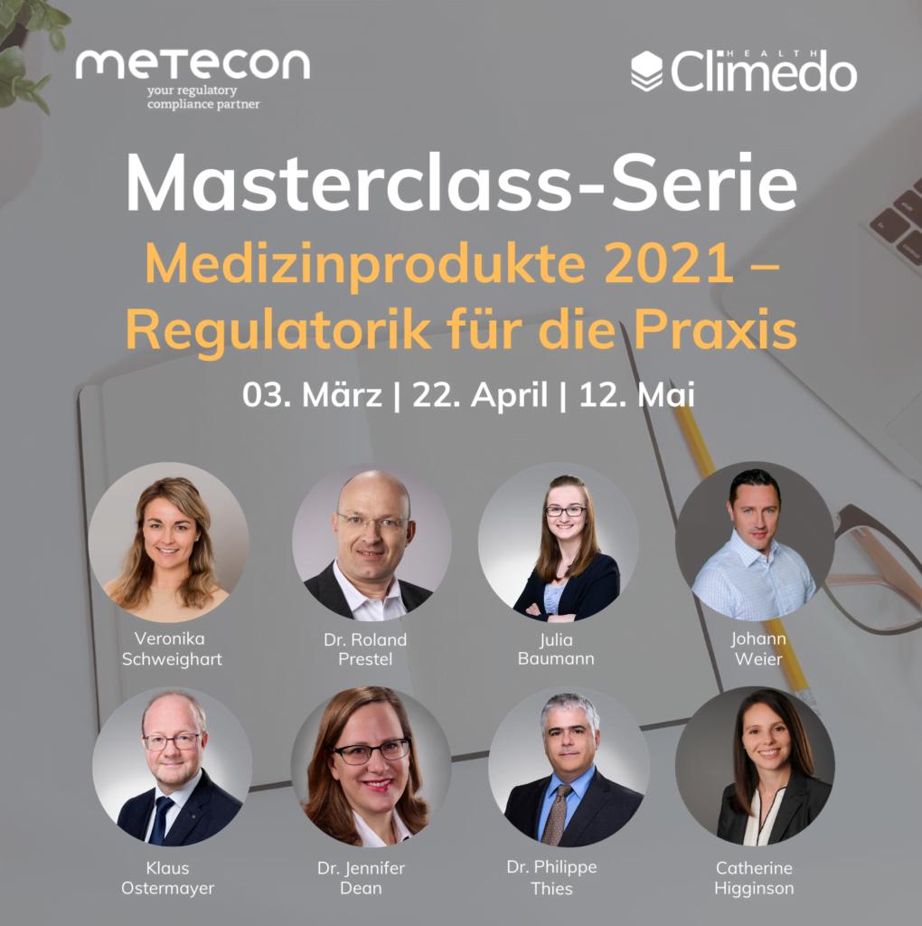 Masterclass Metecon Climedo